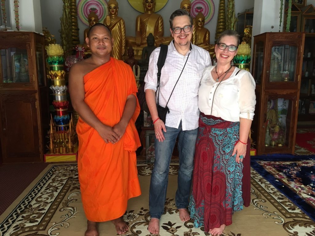 Stefanie und Manfred mit Sareth Brak